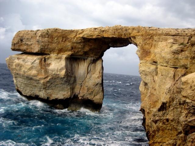 Azure Window, Gozo, Malta #travel #malta