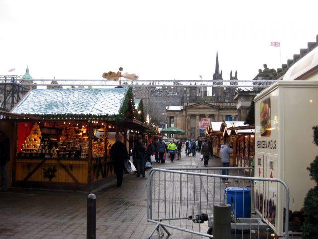 Christmas Market, Edinburgh, Scotland