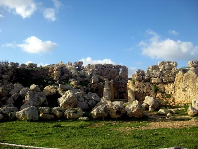 UNESCO World Heritage Site Ggantija Temples, Gozo, Malta