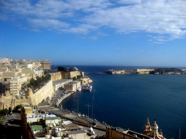 View over Valletta.