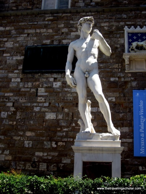 David Replica, Tour of Florence, Italy