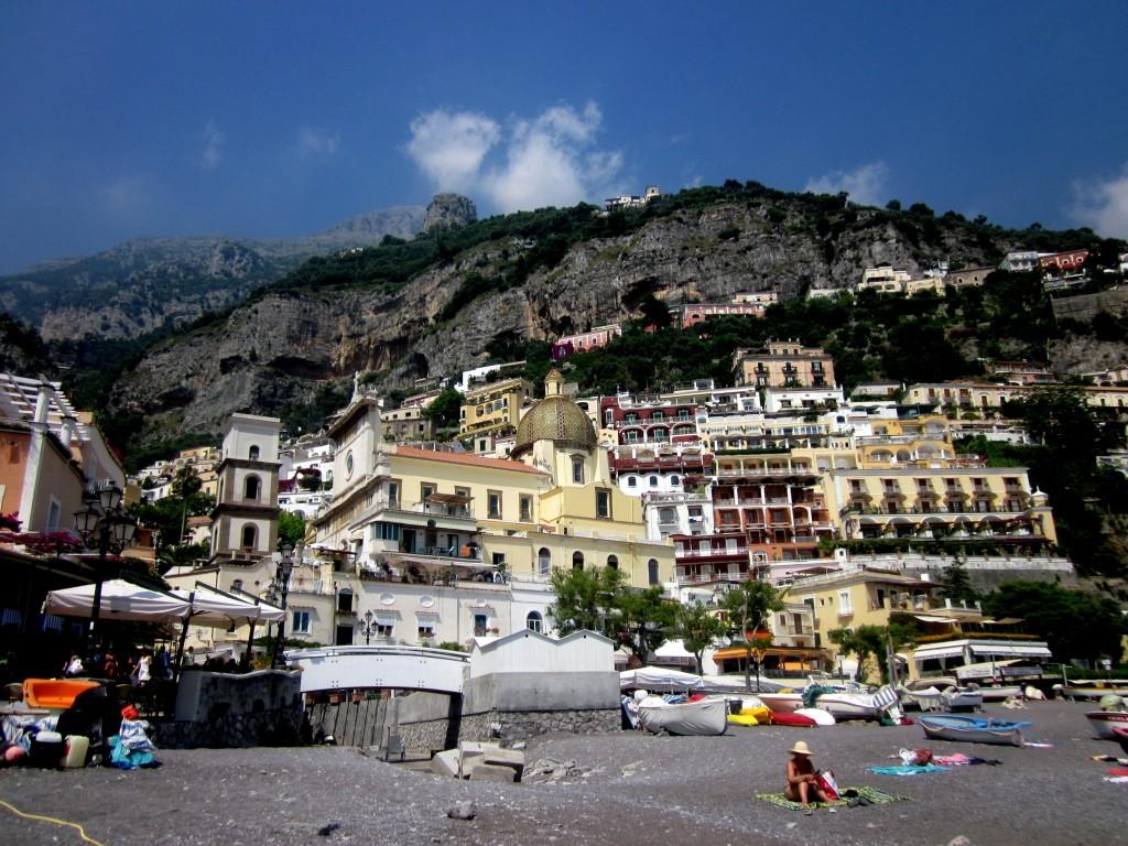 Train Travel From Naples To Positano
