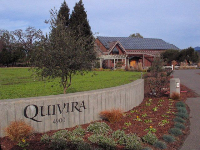 Quivira Winery, Sonoma