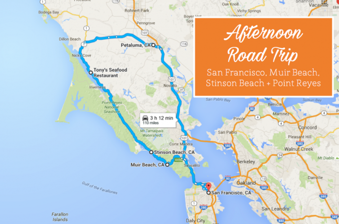 Point Reyes Road Trip, San Francisco