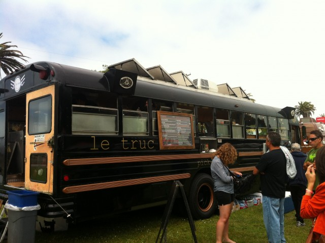 Food Trucks, Treasure Island Flea Market