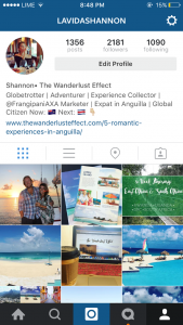 Instagram for photo sharing