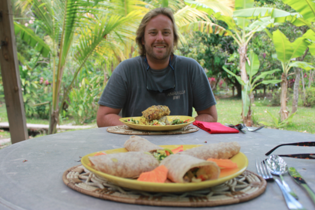 Dining in Dominica