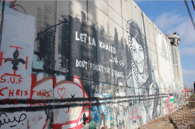 Separation Wall, Bethlehem, West Bank