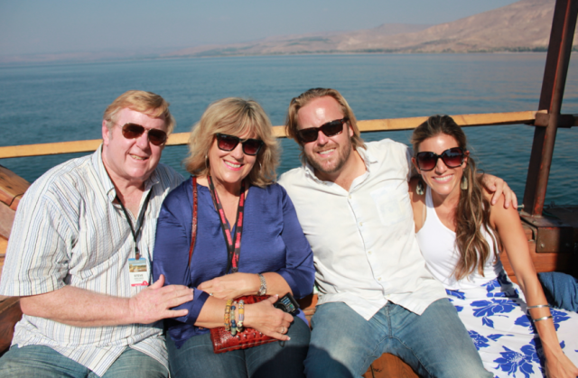 Sailing Sea of Galilee, Israel