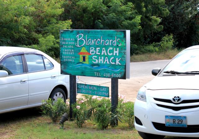 Blanchard's Beach Shack, ANguilla
