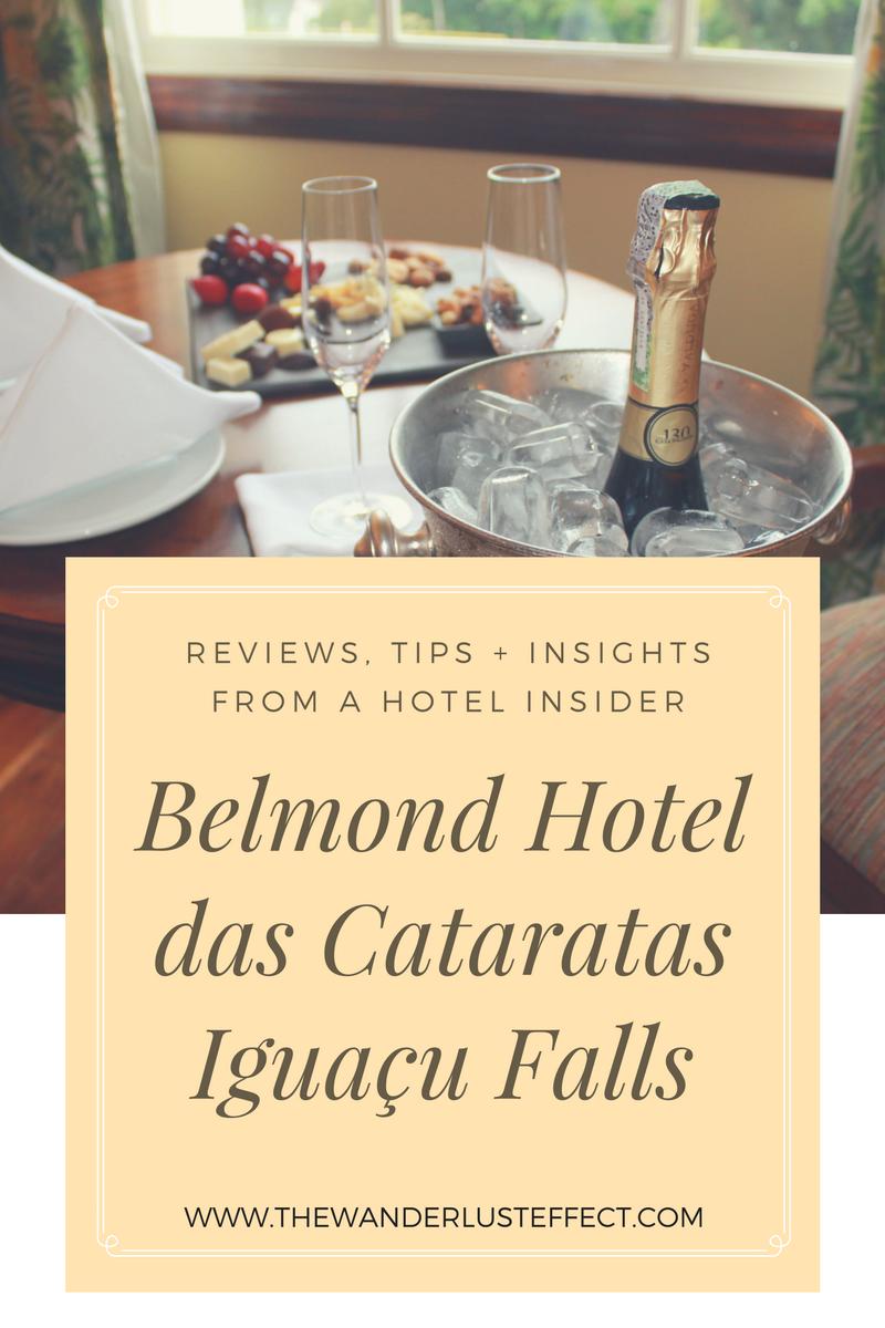 HOTEL INSIDER: Belmond Hotel das Cataratas