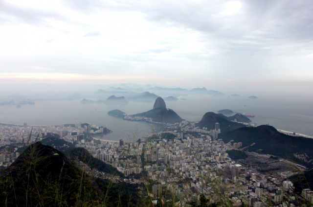 View from Christ the Redeemer, Rio
