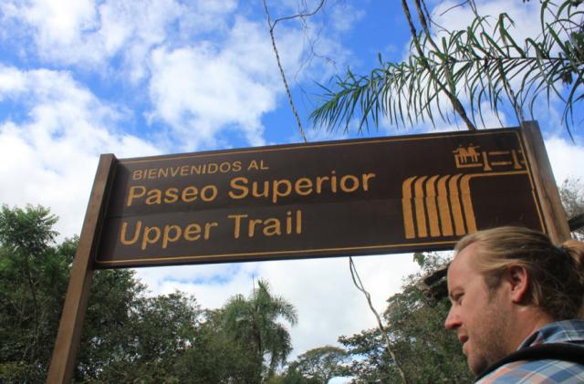Upper Trail, Iguazu Falls, Argentina