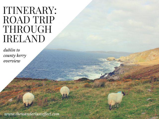 Planning a road trip through Ireland