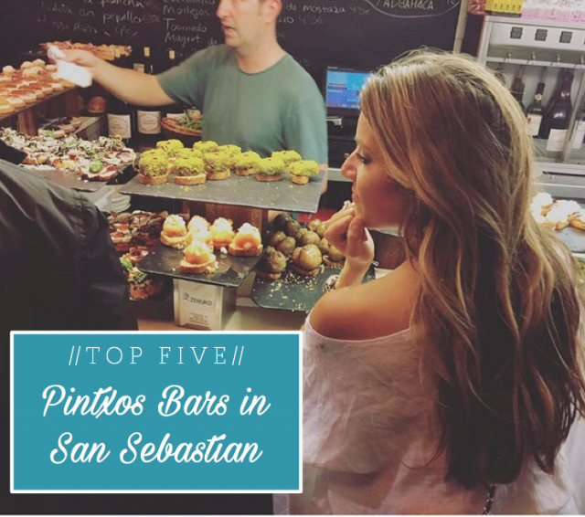 Top 5 Pintxos Bars in San Sebastian