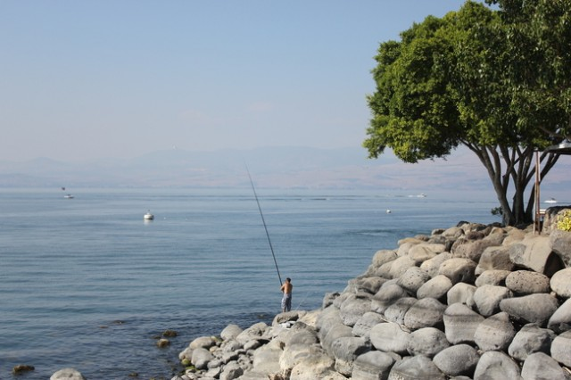 Ein-Gev Kibbutz, Sea of Galilee, Israel