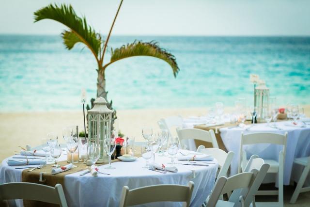 Straw Hat Restaurant, Anguilla Destination Wedding