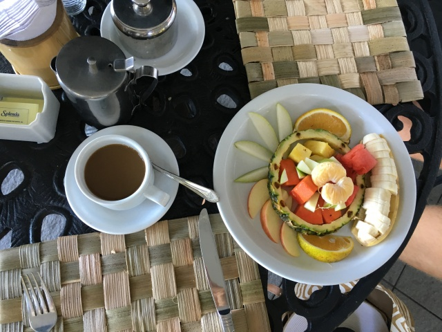 Breakfast at Villa Caletas, Costa Rica