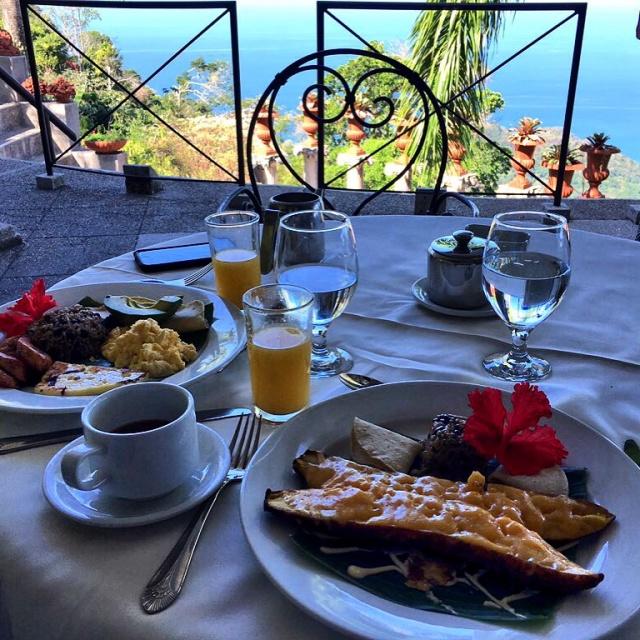 Villa Caletas Dining, Costa Rica