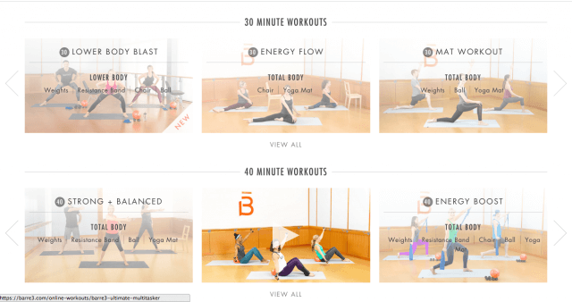 Online Workouts, Workouts When Traveling
