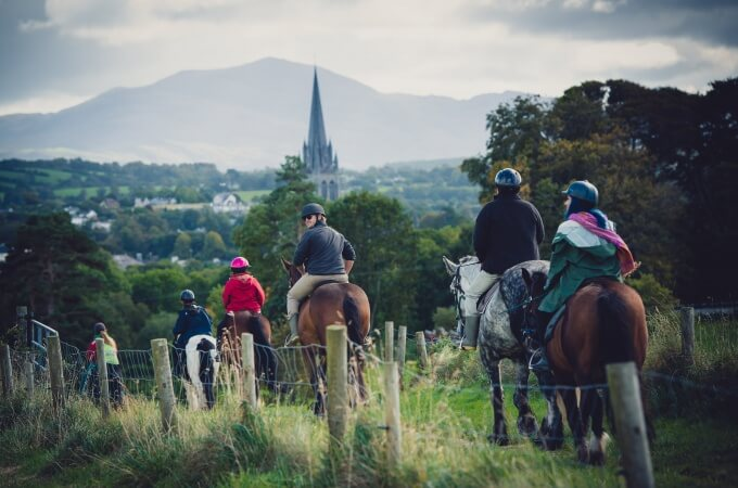 Horseback riding in Ireland, Killarney National Park