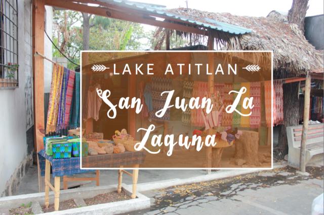 San Juan La Laguna, Lake Atitlán