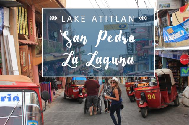 San Pedro La Laguna, Lake Atitlán