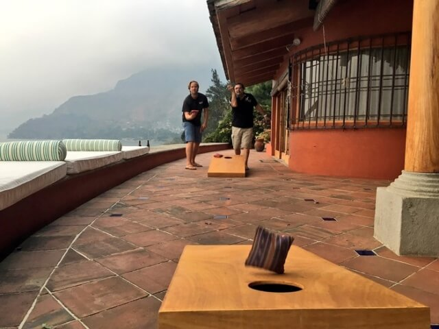 Cornhole, Lake Atitlan