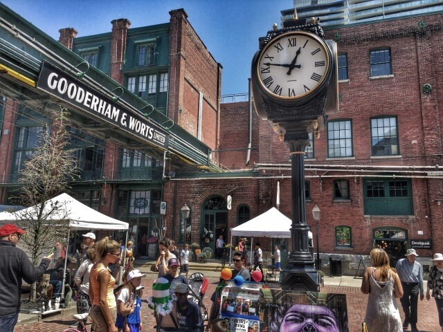 Distillery District, Guide to Toronto's Neighborhoods | The Wanderlust Effect Blog