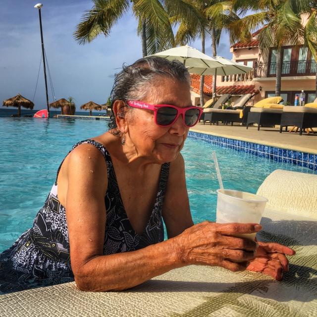 Grandma in Anguilla