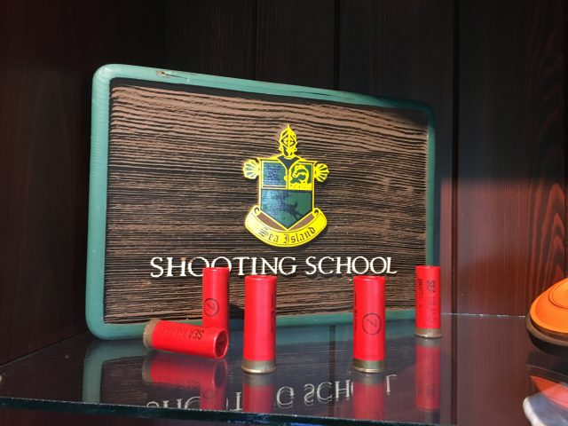 Shooting School at Sea Island