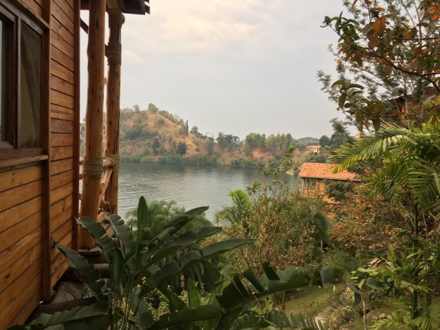 Cormoran Lodge, Lake Kivu