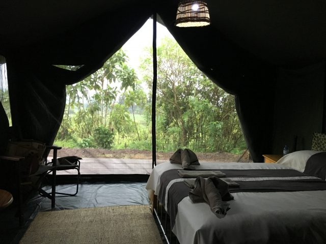 Traveling to Virunga National Park - Bukima Tented Camp