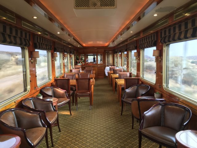 Observation Room on The Blue Train, South Africa - The Wanderlust Effect
