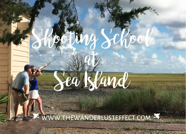 Shooting School at Sea Island