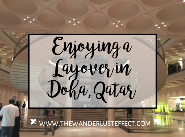 Layover in Doha, Qatar