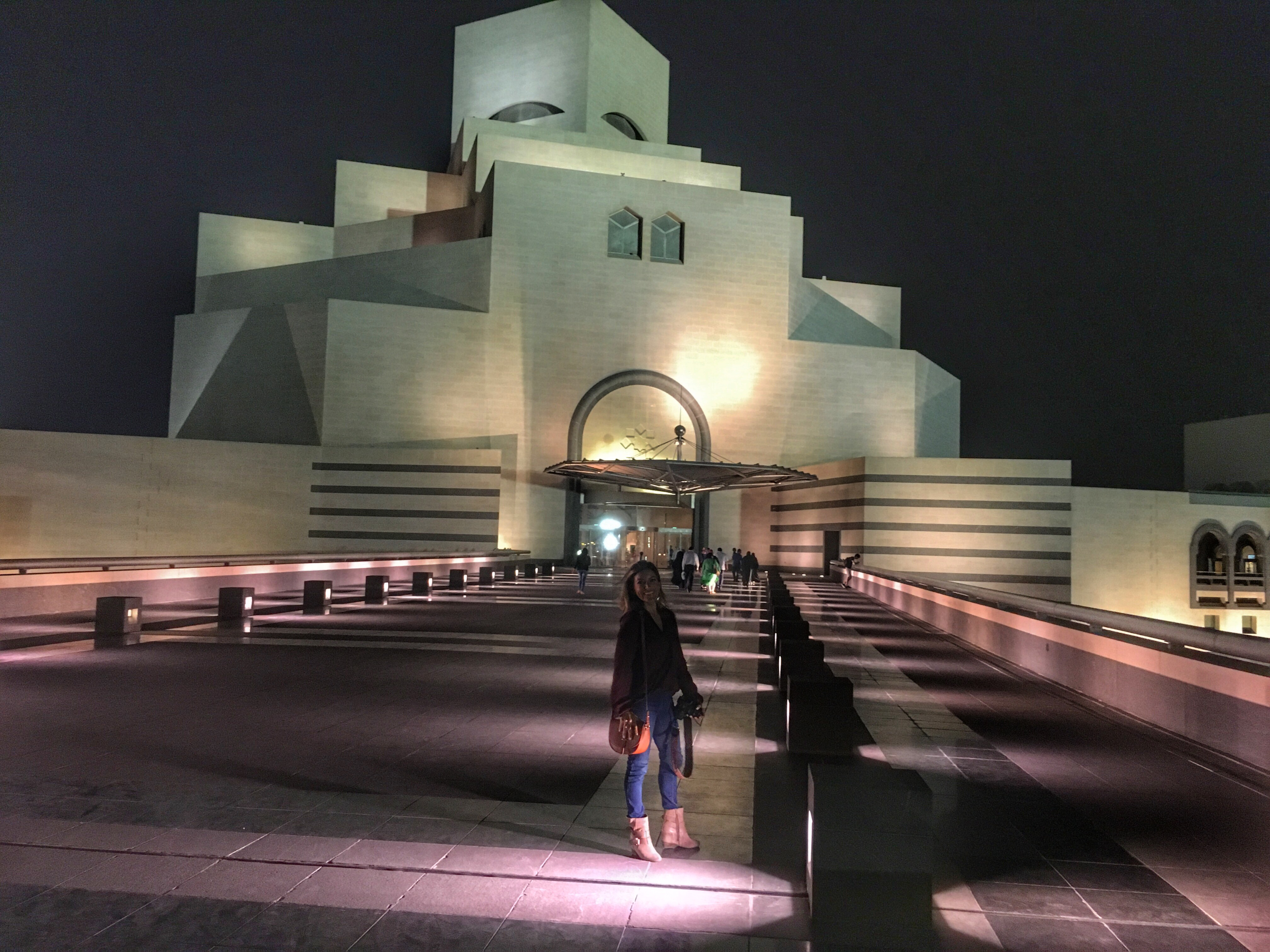 Museum of Modern art during a Layover in Doha