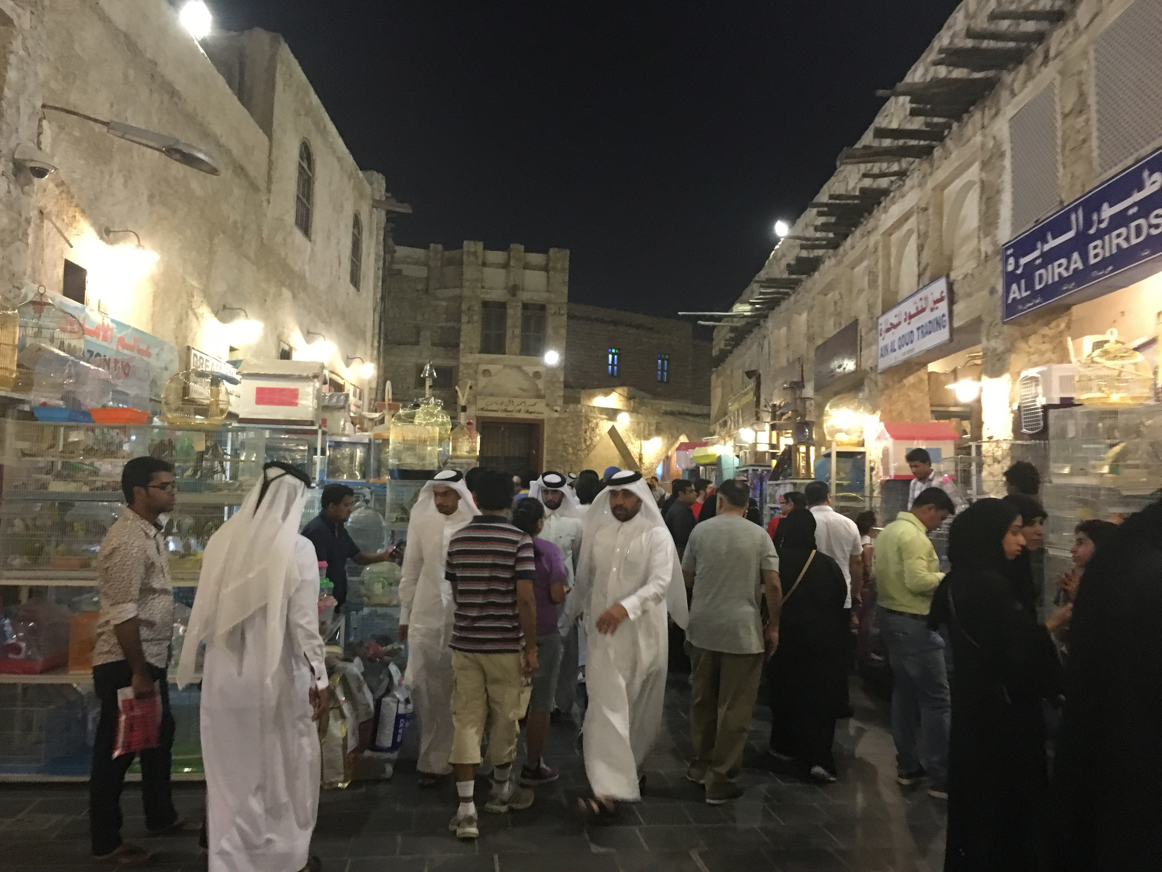 Visiting Souq Waqif // Layover in Doha