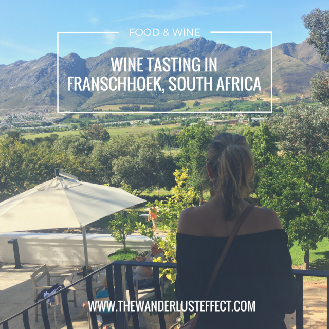 Mont Rochelle: Wine Tasting in Franschhoek, South Africa