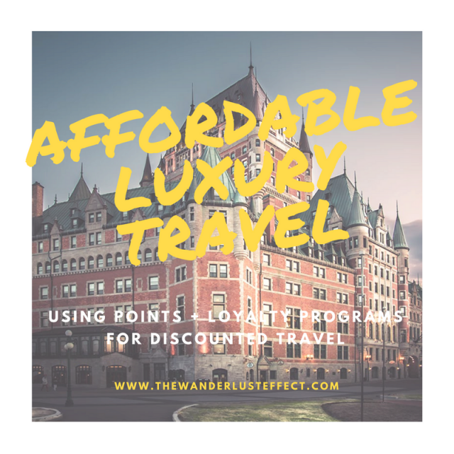 Affordable Luxury Travel, Quebec City + Montreal