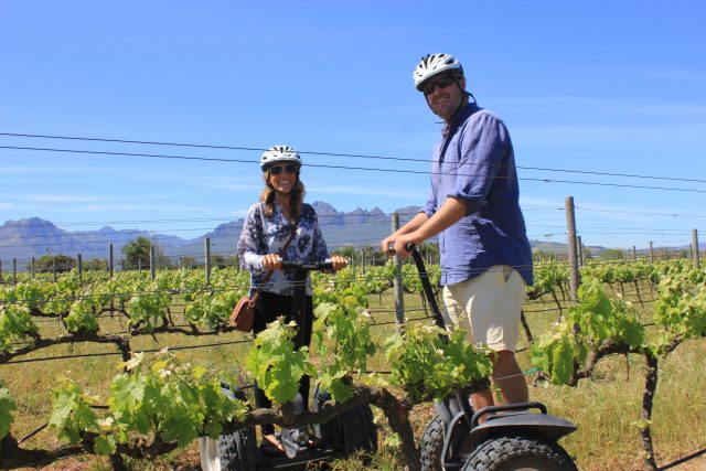 Cape Winelands Experiences, Segway Tour Stellenbosch