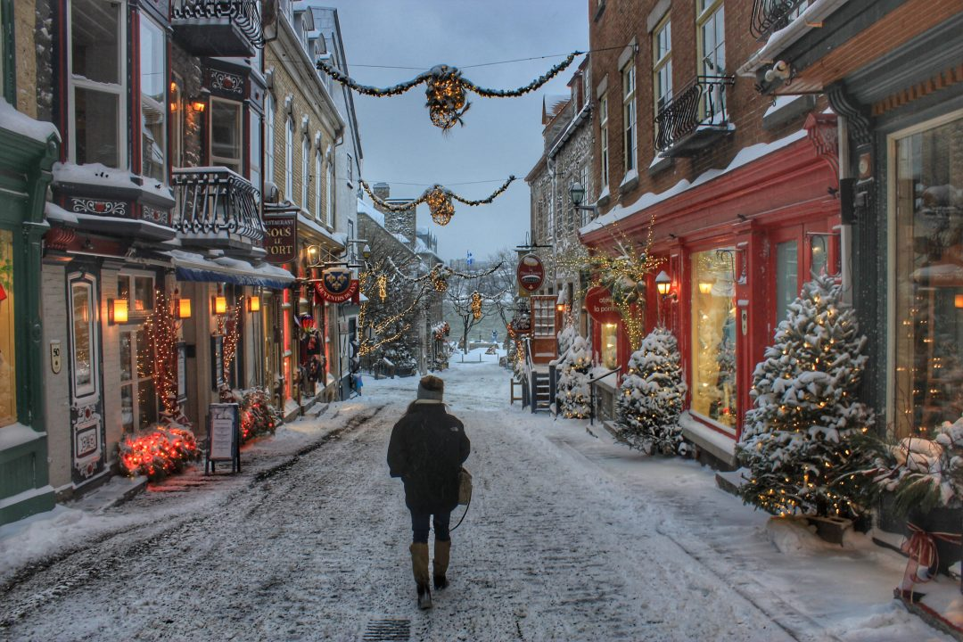 Winter Getaway Christmas In Quebec City The Wanderlust Effect
