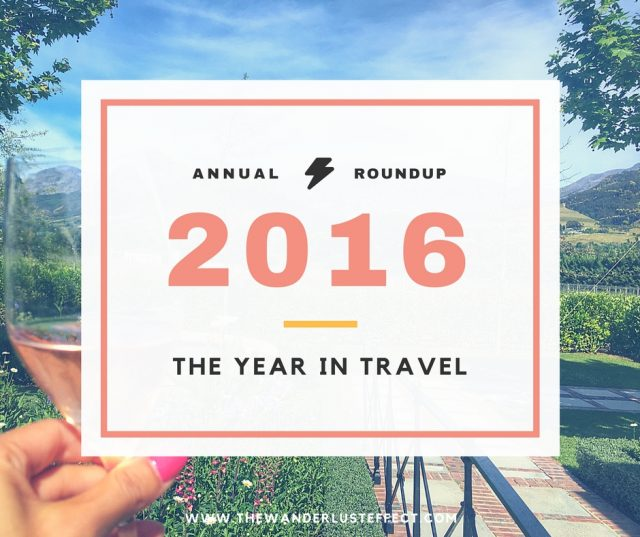 2016 Top Travel Moments of 2016