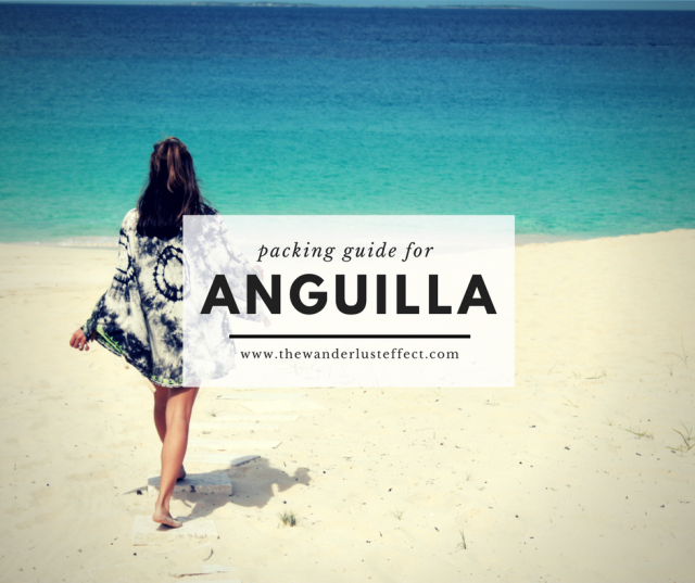 Packing for Anguilla