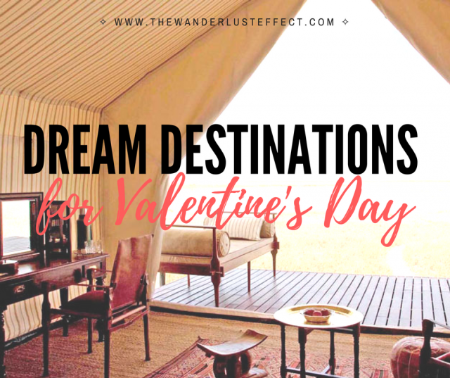 Destinations for Valentine's Day, San Camp, Botswana