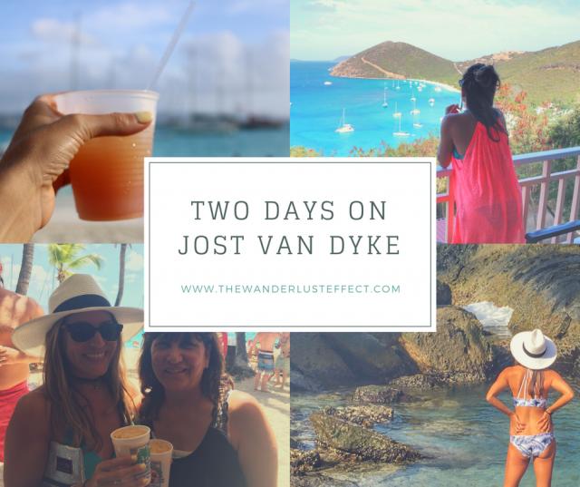 Two Days on Jost Van Dyke