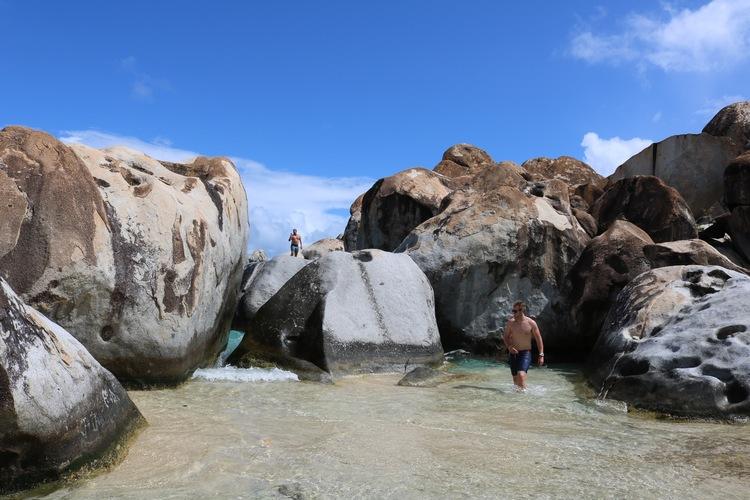 The Baths at Virgin Gorda, BVI