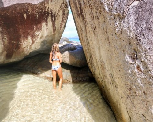 Baths at Virgin Gorda, British Virgin Islands
