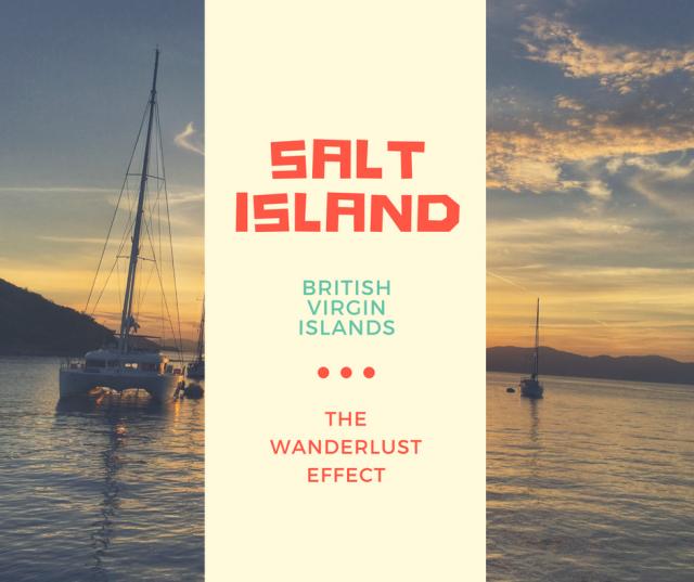 SALT ISLAND, BVI Island Hopping