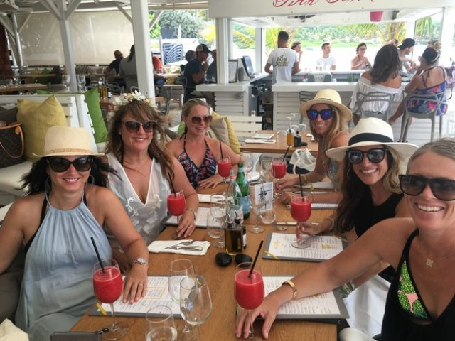 Tom Beach, Lunch in St. Barths